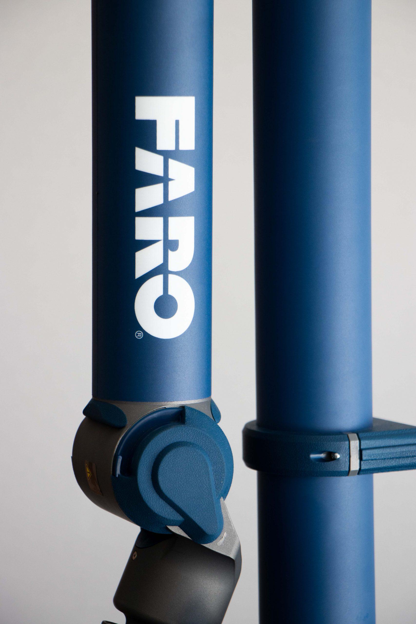 robot arm close up product photography