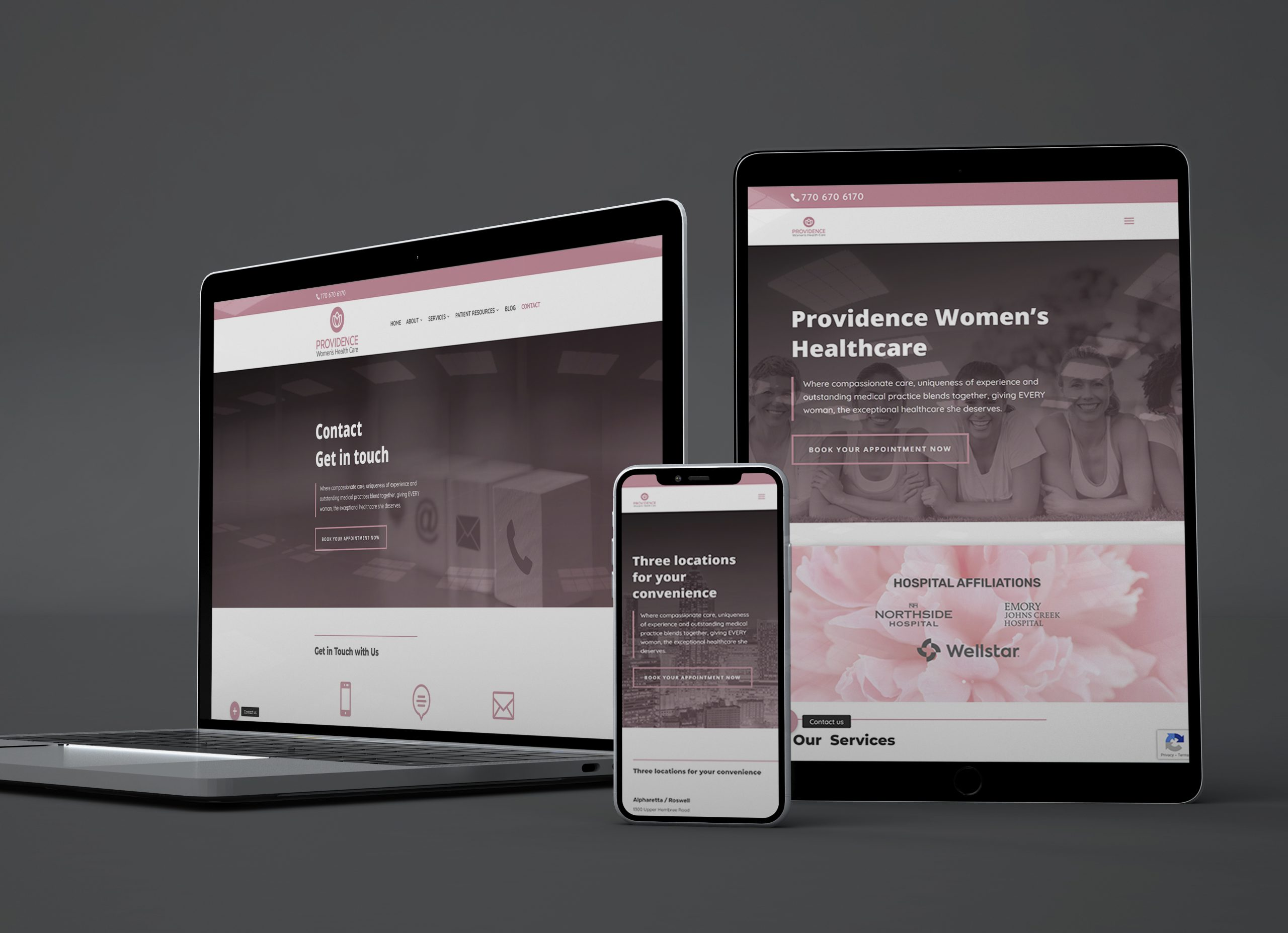 Providence Womens Healthcare Website